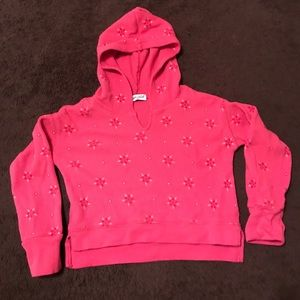 Other - Thermal toddler girl hoodie.